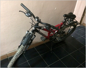 Брянскими полицейскими с поличным задержан похититель велосипедов