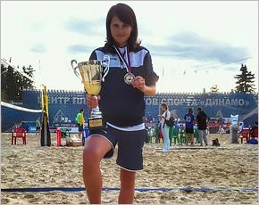 Брянские «пляжницы» выиграли Кубок России по футволею
