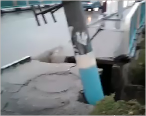 Ливнем во вторник в Брянске оказались частично разрушены два моста на Чермете (ФОТО, ВИДЕО)