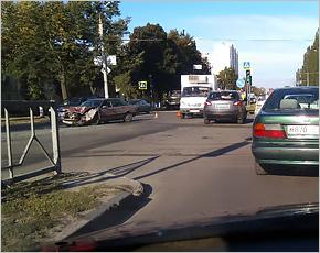 В ДТП на Московском проспекте пострадал водитель, соблюдавший правила