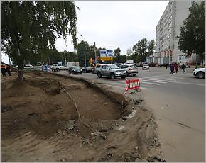 «Устье» улицы Крахмалёва у «Самолёта» будет расширено до пяти полос