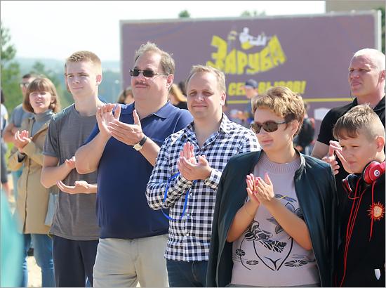На первую в истории Брянска воркаут-«Зарубу» заявились 20 команд