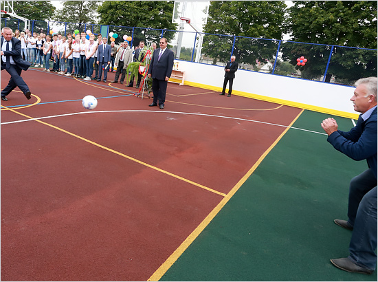 Во Всемирный день тхэквондо открыты две новых брянских спортивных площадки