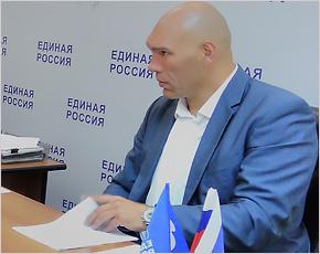 Николая Валуева попросили поставить канализационную трубу на учёт