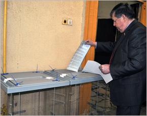 Ходить на выборы нужно учить с детства – Владимир Гайдуков