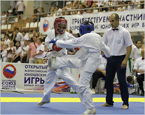 Брянские спортсмены стартовали на юношеские Играх боевых искусств в Анапе
