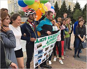 Клинцовские велопутешественники финишировали в Брянске на 111-й день