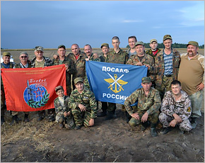 Полевая разведка «Брянского Фронта»у деревни Литовня Навлинского района