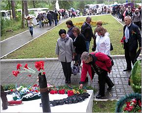 На стоянке отряда Виноградова прошёл митинг в честь освобождения Брянщины