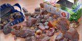 Украинец нелегально ввозил в регион янтарь в пачке из-под сока (ФОТО)