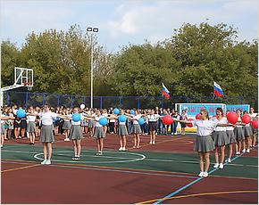 Многофункциональная спортплощадка в Сураже открылась международной спартакиадой