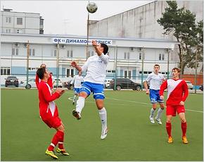 После детского футбольного турнира динамовская база оказалась под запретом для официальных матчей