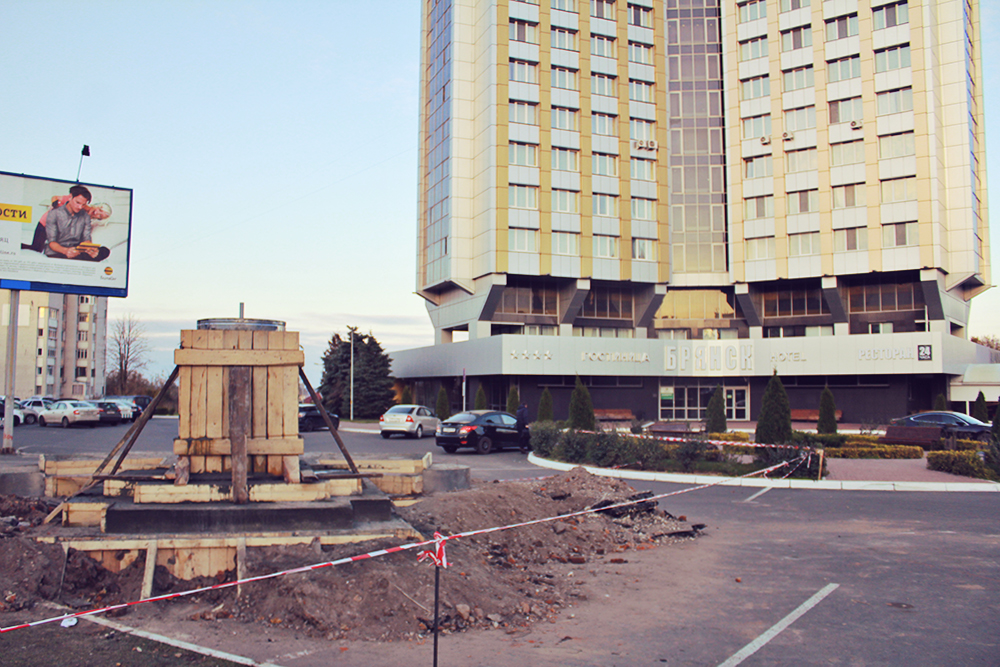 Олег Брянский займёт место на парковке гостиницы «Брянск»