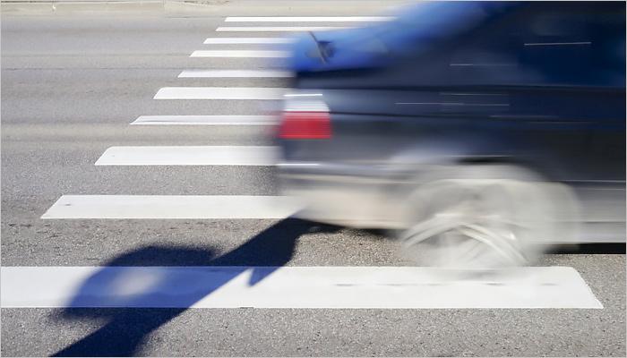 20-летний шофёр иномарки сбил подростка напереходе вКлинцах