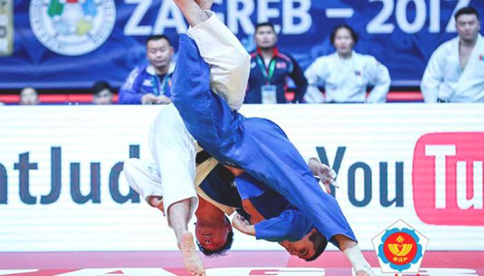 Волгоградский дзюдоист Адамян одержал победу серебро юниорского главенства мира