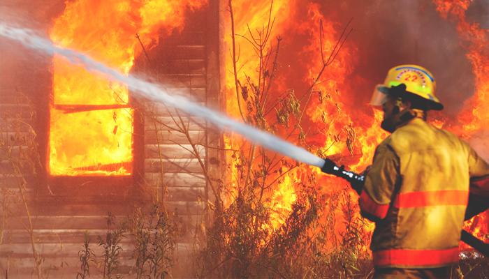 ВТрубчевске впожаре умер старый мужчина