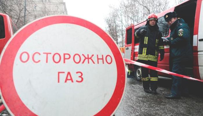 ВПогарском районе прорвало газопровод вовремя проведения работ