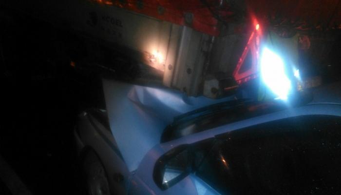 Под Брянском автомобиль ДПС столкнулся сгрузовиками— ранен гаишник