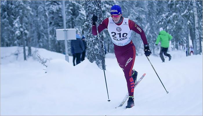 Лыжник изУдмуртии Максим Вылегжанин стал вторым намеждународном турнире