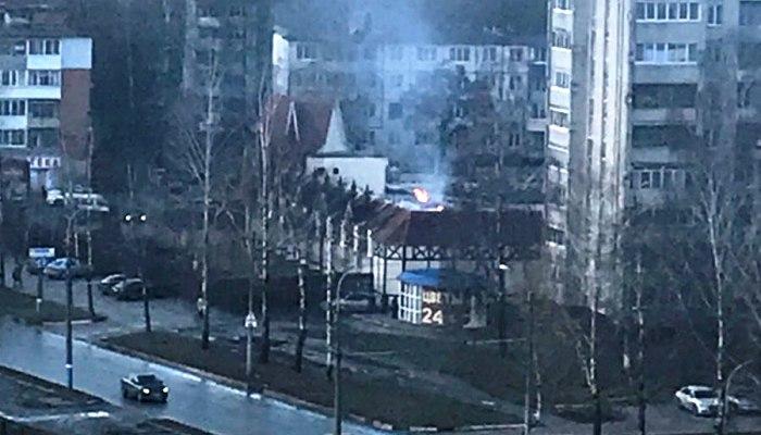 Пожар вресторане «Августин» вБрянске потушили за2 мин.