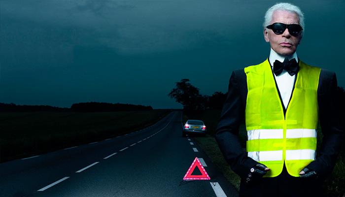 Новые правила: русские водители обязаны возить ссобой световозвращающие жилеты