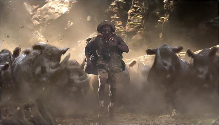 Фильм «Джуманджи: Зов джунглей» стал лидером русского проката ввыходные
