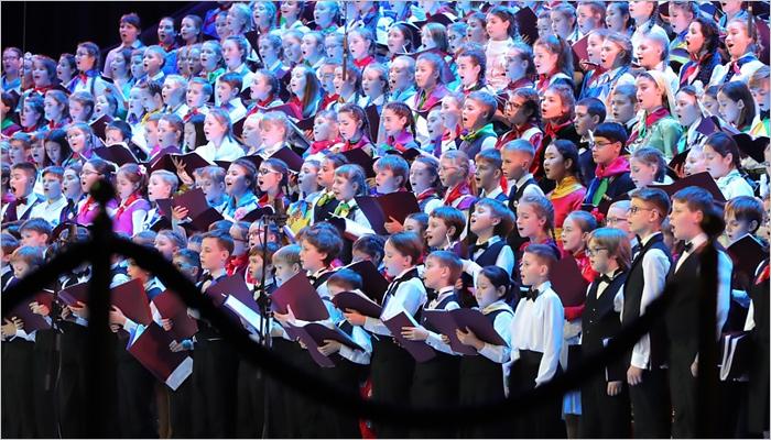 Путин посетит концерт Детского ансамбля Российской Федерации