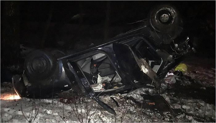 ВДТП под Брянском умер  29-летний шофёр  иномарки