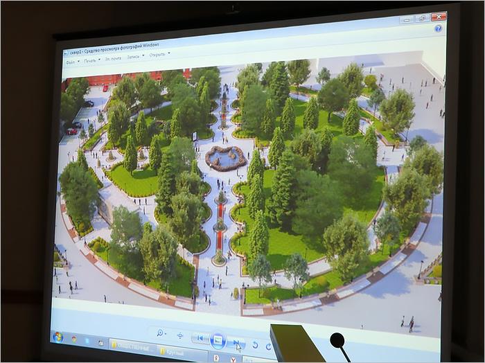 В Брянске представлены два проекта реновации (вырубки) Круглого сквера
