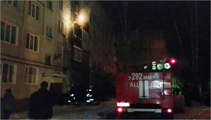 ВБрянске изгоревшего дома спасли старика идвоих детей