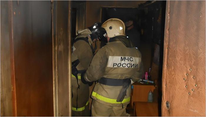 ВБрянске впожаре вквартире умер мужчина