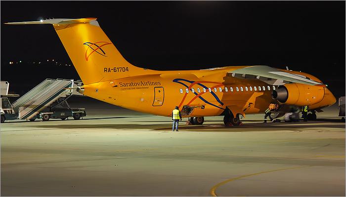 Под Москвой разбился самолёт Ан-148 «Саратовских авиалиний»