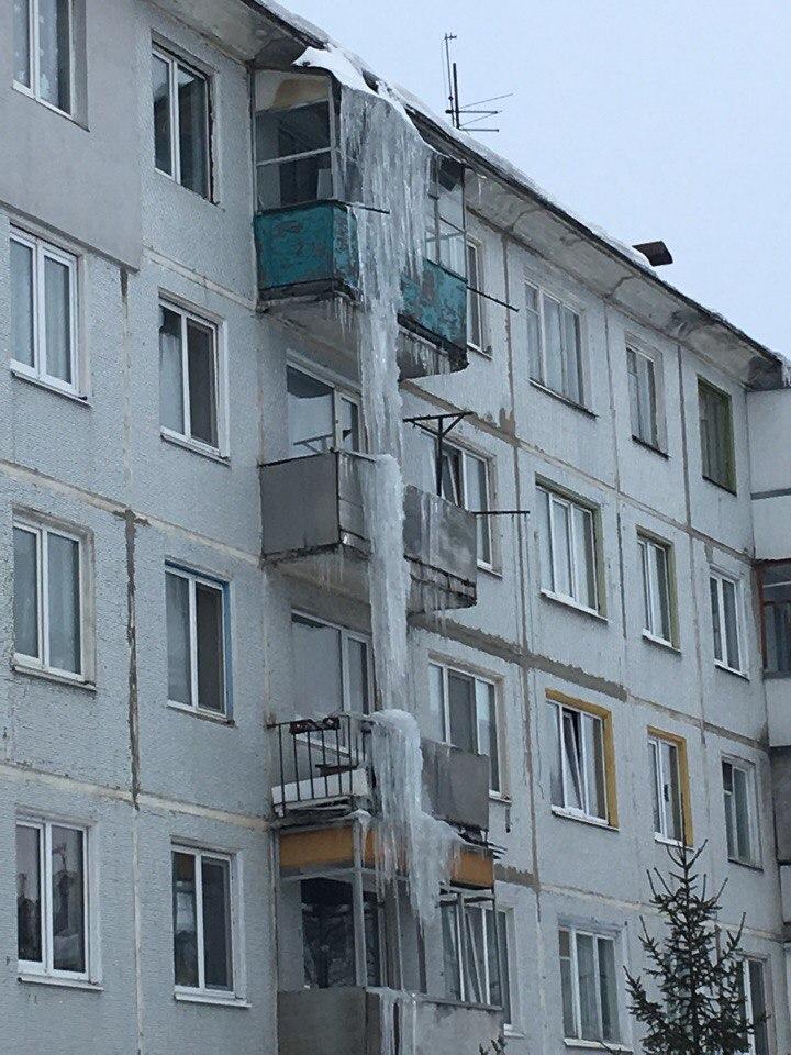 В Брянске сталактиты поглотили ликёроводочный завод «БрянскСпиртПром»