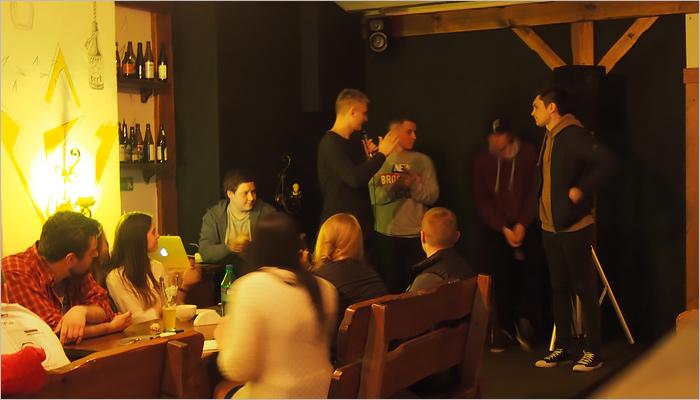 В Брянске разыгран первый денежный приз на открытом шоу stand up