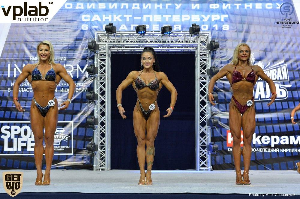 Брянская бодифитнес модель стала абсолютной чемпионкой Северо-Западного федерального округа