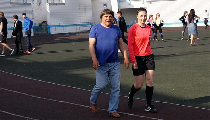 Впервые в истории домашний матч брянского «Динамо» обслуживала женщина-арбитр