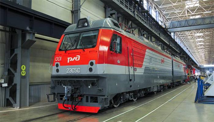 Новый электровоз изНовочеркасска презентовали вБрянске