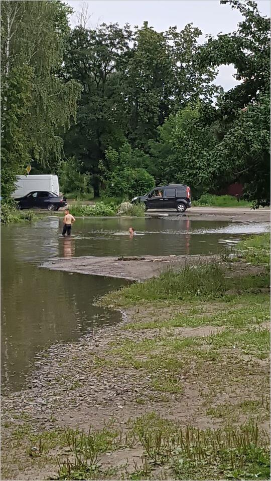 Половодье на реке Богомазовке: грунтовые воды подмывают дома в Бежицком районе