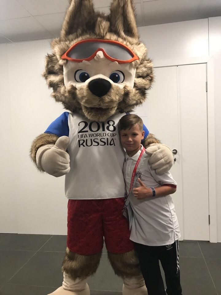 Брянский школьник поспособствовал исторической хорватской победе