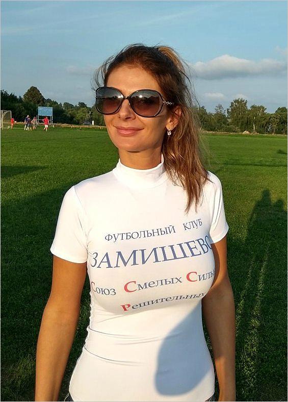 Олеся Сивакова стала вице-президентом футбольного клуба «Замишево НМЗ»