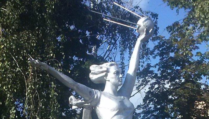 Спутнику на Никитинской брянские вандалы вновь обломали антенны