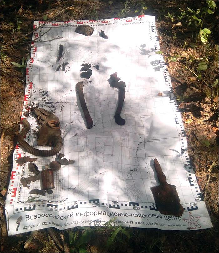 Брянские поисковики обнаружили на месте прорыва 50-й армии ещё двоих красноармейцев