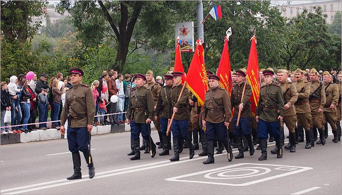 Брянск как пять лет назад: 17 сентября по проспекту Ленина пройдут танки, «катюши» и партизаны