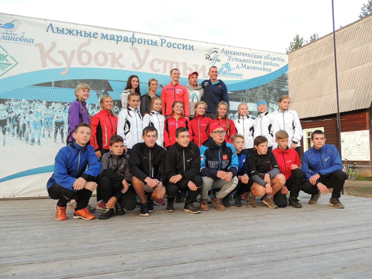 Александр Большунов финишировал вторым на всероссийском забеге лыжников-гонщиков