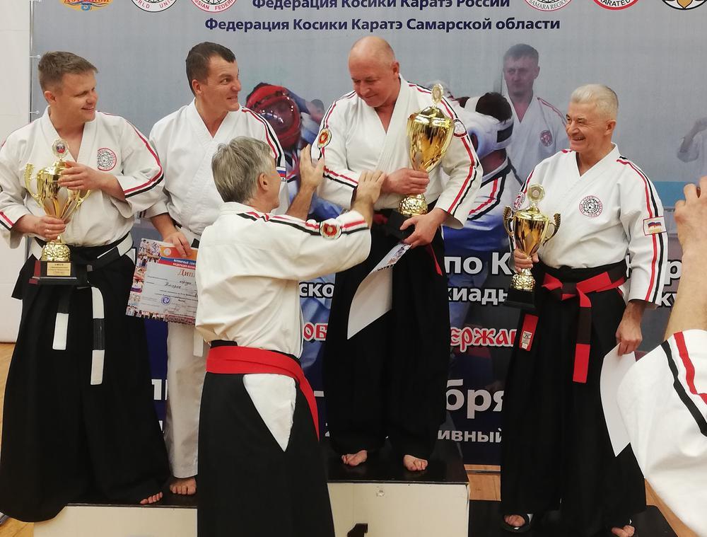 Брянская сборная стала лучшей в командном зачёте чемпионата России по косики каратэ