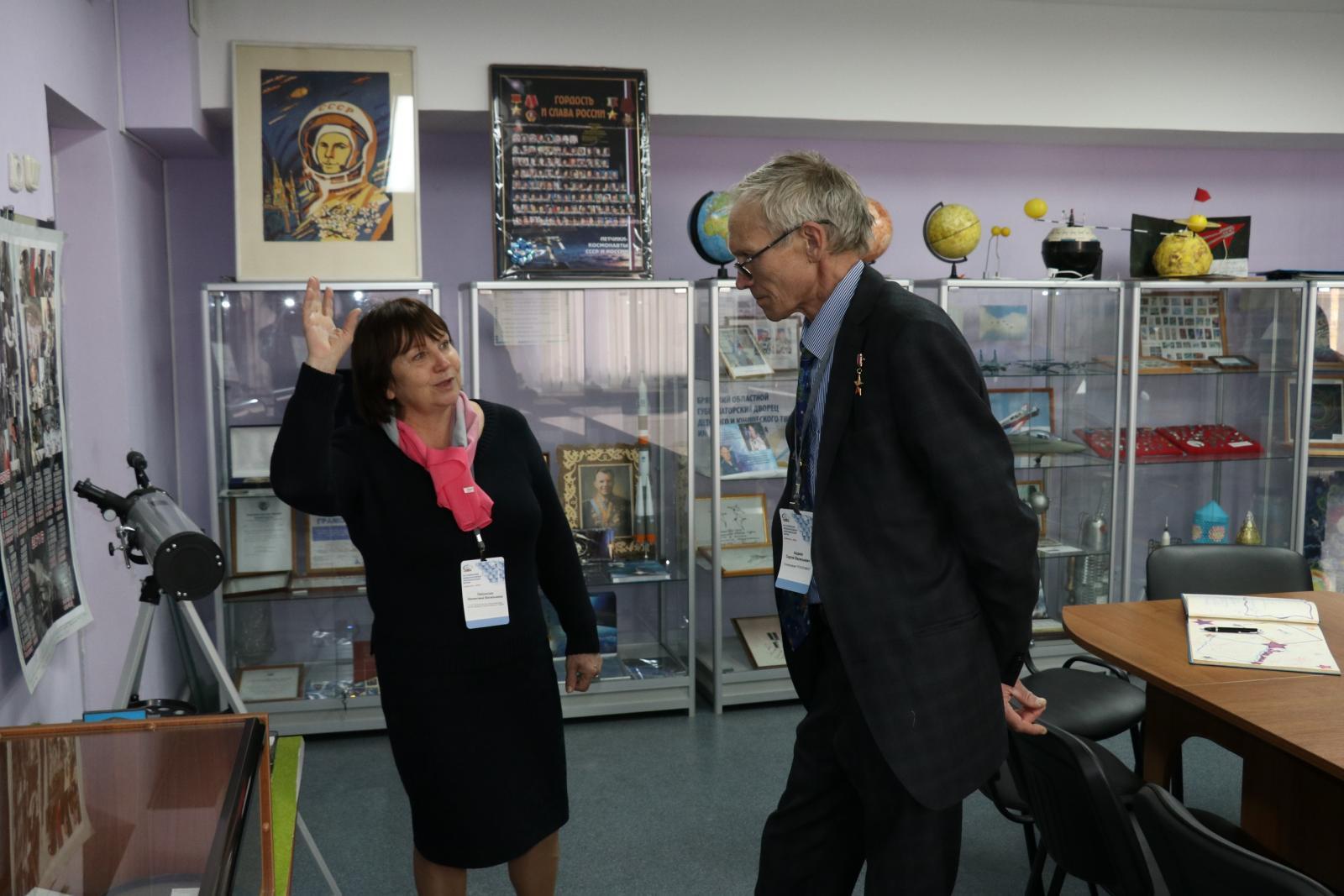 Экс-рекордсмен мира по суммарному времени пребывания в космосе посетил Брянск