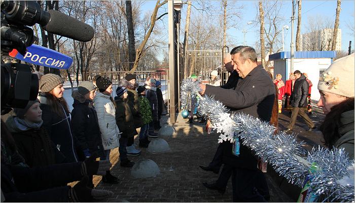 Департамент открытий продолжает работу: в Брянске открыт обновлённый парк Железнодорожников