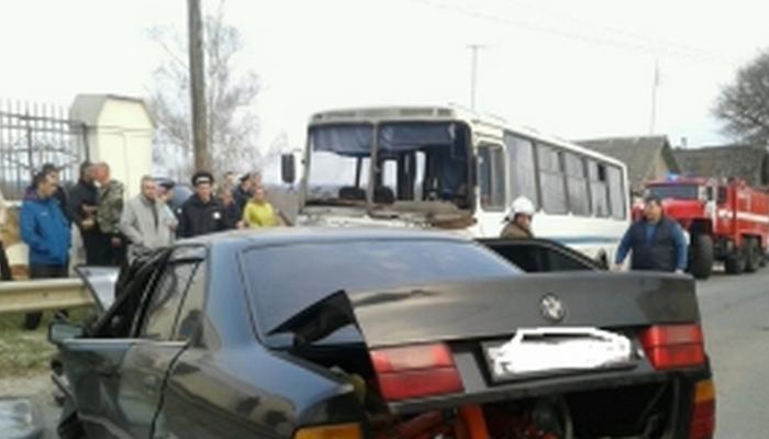 В Почепе произошла смертельная авария с участием пассажирского автобуса