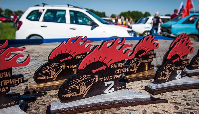 Весенний ралли-спринт «У Мастера» под Дятьково прошёл при летней погоде