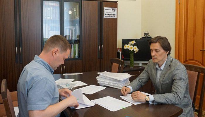«Гражданская платформа» сдала свой партсписок на выборы в Брянскую облдуму